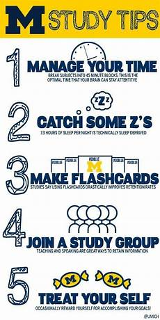 College Life Tips Check Out These Study Tips By The University Of Michigan