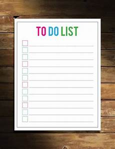 To Do List Printable Checklist No Excuses 20 Free Printable To Do Lists Brit Co