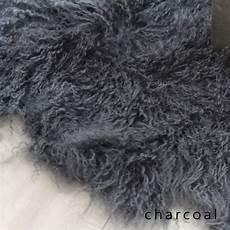 grey fur rug large 8x8 mongolian fur rug eluxury home
