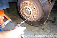 Bmw E39 5 Series Parking Brake Shoes Replacement 1997