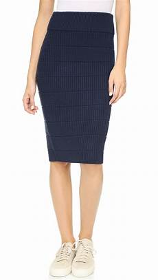 lyst marc by marc compact wool sweater knit skirt