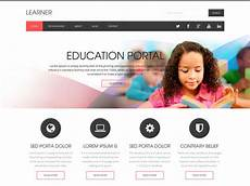 free college website templates in php 40 best education html website templates ginva