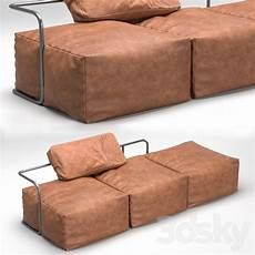 Sofa Style Daybed 3d Image by 3d Models Sofa Daybed Leather Sofa