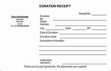 donation receipt letter template word sle donation receipt template 17 free documents in