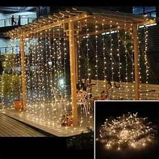 String Fairy Wedding Curtain Light 3x1m Led Wedding Fairy Light Christmas Garland Led Curtain
