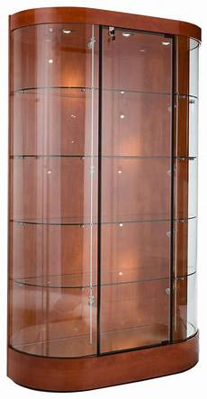 these wood and glass trophy cases for sale are ship