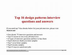 Hardware Design Interview Questions And Answers Top Design Patterns Interview Questions And Answers Job