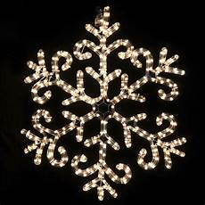 Christmas Light Up Snowflakes Warm White Led Rope Light Snowflake Christmas