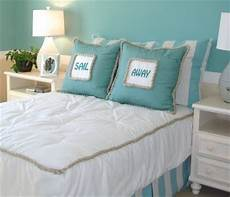 large pillows instead of headboards guest room