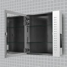 Bathroom Mirror Cabinet With Battery Lights Minisun Illuminated Led Bathroom Cabinet Mirror Battery