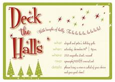 Holiday Party Email Template Christmas Party Email Invitation Template