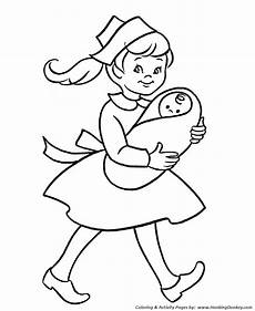 Pre K Coloring Pages Free Printable Nurse And Baby