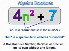 Terms In Algebra Algebra Terms And Expressions Passy S World Of Mathematics