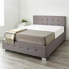 cat alt a king size upholstered ottoman bed by