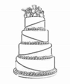 wedding cake black and white drawing image sketch june 2011