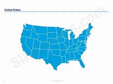 united states powerpoint map united states maps and flags in powerpoint