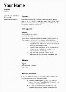 Professional Resume Samples Free 8 Cv Template Word Office Free Samples Examples