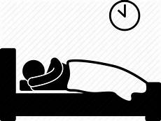 bed bedroom bedtime early rest sleep icon