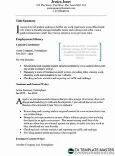 Ready Cv Examples Example Cv Template Free Example Cv In Microsoft Word