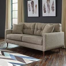 chento jute sofa by signature design by 1 review s