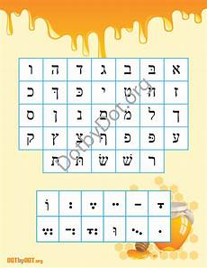 Alef Beis Chart Alef Beis Chart