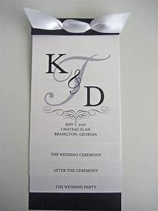 Invitation Front Page Design Layered Wedding Program Like The Front Page Design