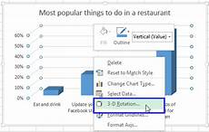 rotate pie chart powerpoint 2016 rotate charts in excel 2010 2013 spin bar column pie