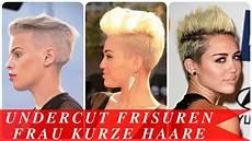 frauen frisuren extrem kurz undercut frisuren frau kurze haare