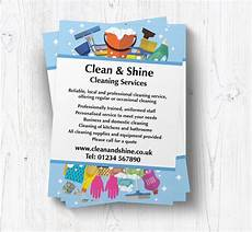 Cleaning Leaflet Template Cleaning Equipment Leaflets Customise Online Plus Free