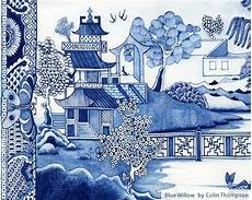 Alterations By Carla Willow Designs Blue Willow By Colin Thompson Blue Willow Stick Wall Art