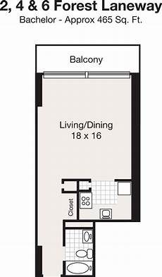 Bachelor Apartment Floor Plan Apartments For Rent At Sheppard Centre In York