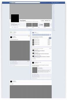 Facebook Page Template Free Facebook Timeline Mockup Psd Free Graphics