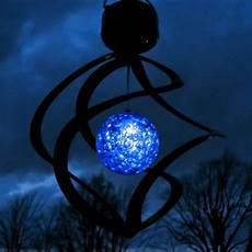 Spiral Solar Lights Led Wind Spinner Solar Power Garden Light Outdoor
