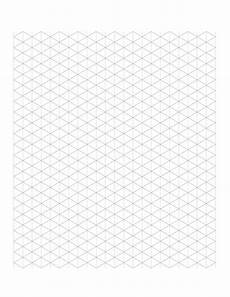 Isometric Graph Paper 5 Free Isometric Graph Grid Paper Printable