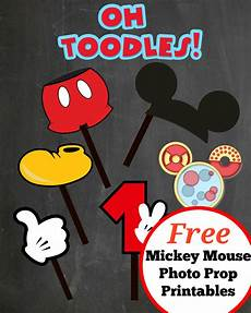Mickey Mouse Printables Free Free Photo Props Mickey Mouse Printable Amp Templates