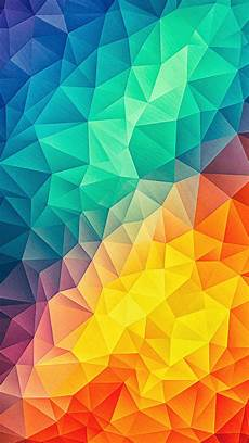 fondo de colores low poly colors iphone wallpaper iphone wallpapers