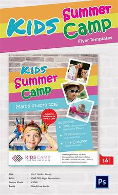 Camp Flyer Template Free Summer Camp Flyer Templates 47 Free Jpg Psd Esi