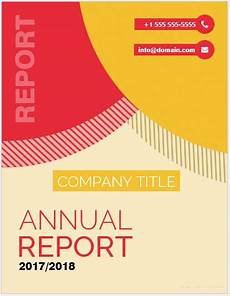 Report Cover Pages 20 Report Cover Page Templates For Ms Word Word Amp Excel
