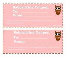 Babysitting Coupon Templates Free 6 Babysitting Coupon Templates In Psd Ai Indesign