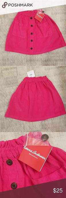 Andersson Size Chart 130 Andersson Pink Skirt New Andersson Pink Skirt