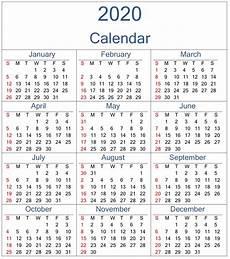 Calendar Excel Template 2020 2020 Excel Calendar Calendar For Planning