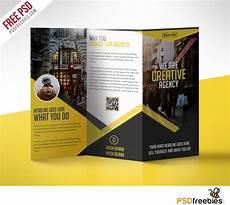 Photoshop Brochure Templates Multipurpose Trifold Business Brochure Free Psd Template