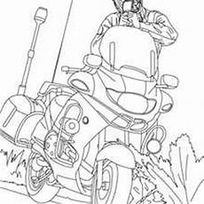 Ausmalbilder Polizeistation Coloring Pages Free For