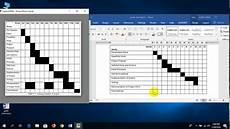 How To Do A Sign Chart How To Make Gantt Chart In Microsoft Word Youtube