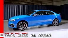 2020 audi s4 2020 audi s4 sedan tdi 48 volt mhev