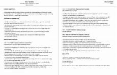How Do I Format A Resume 99 Free Professional Resume Formats Amp Designs Livecareer