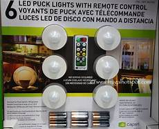 Capstone Led Puck Lights 6 Pack With Remote Control Costco Sale Capstone Led Puck Lights 6 Pack With Remote