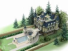 Castle Design Conceptual Design Out Of Town Castle Antica