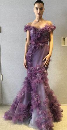 Marchesa Size Chart Marchesa Couture Ombre Texture Organza Gown M28806 In