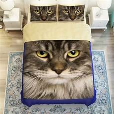 3d cat bedding sets 3 4pc duvet cover without filler